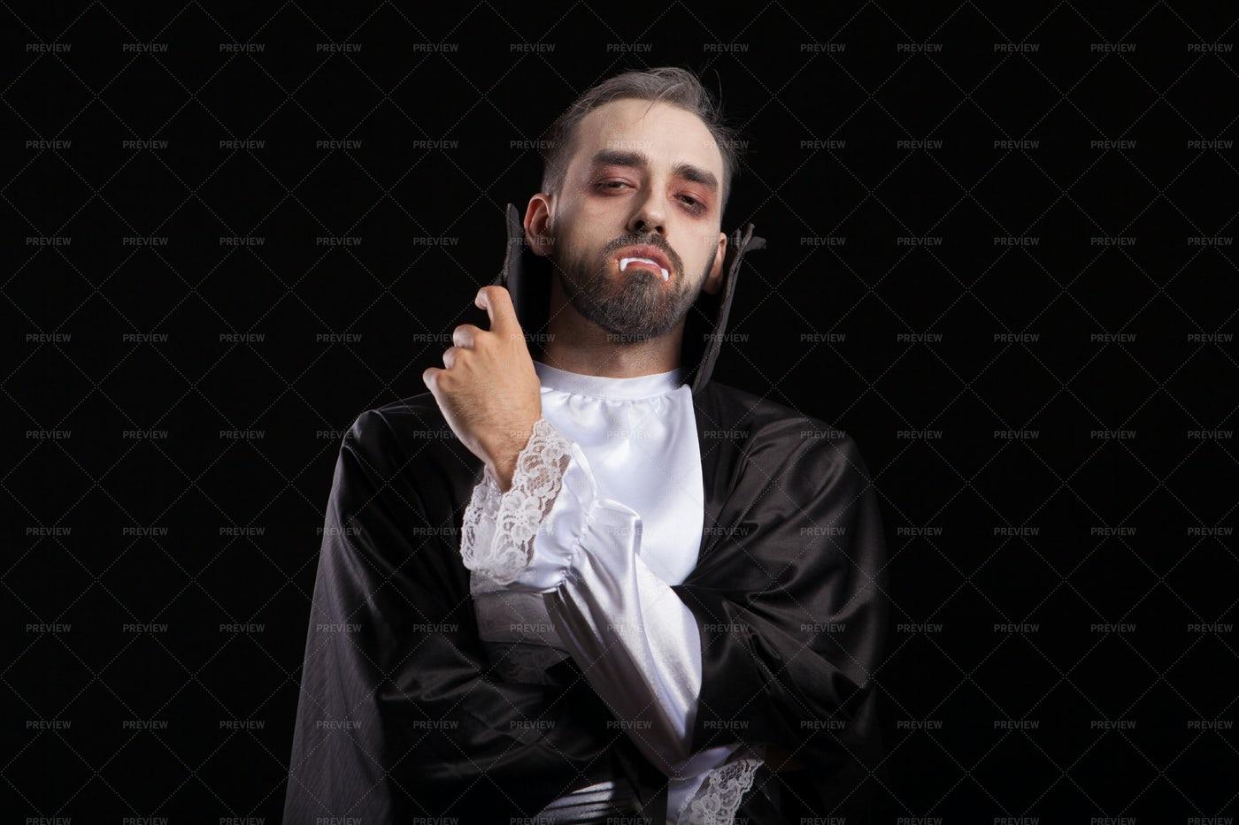 Vampire Costume: Stock Photos