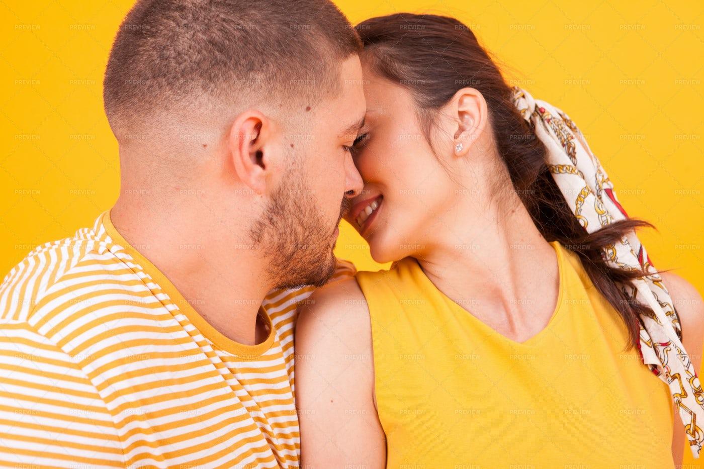 Intimate Couple: Stock Photos