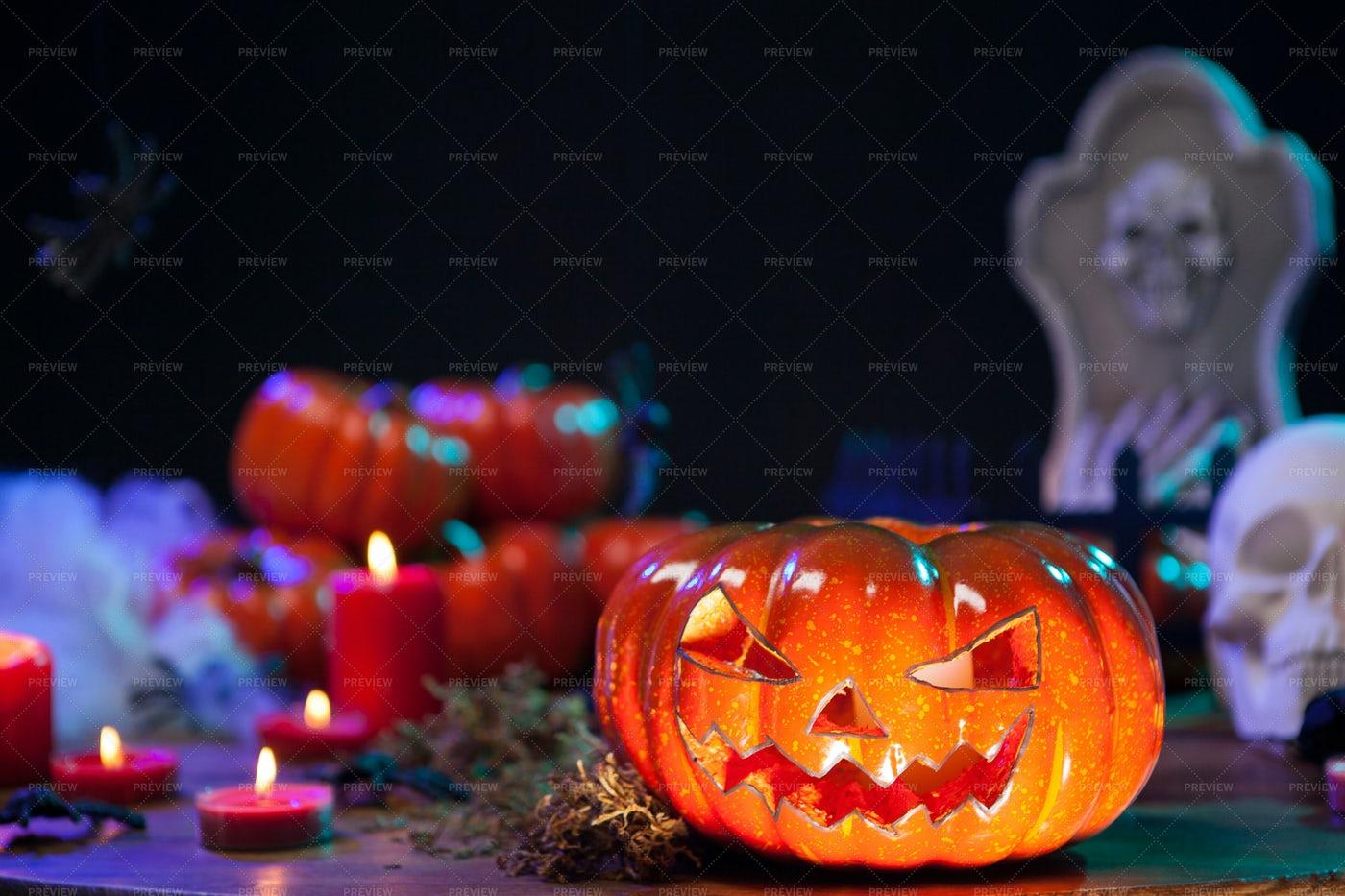 Halloween Decoration: Stock Photos