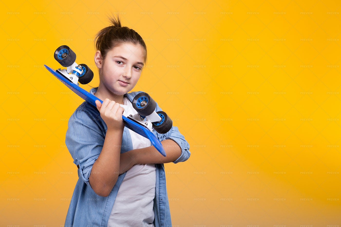 Skater Girl: Stock Photos