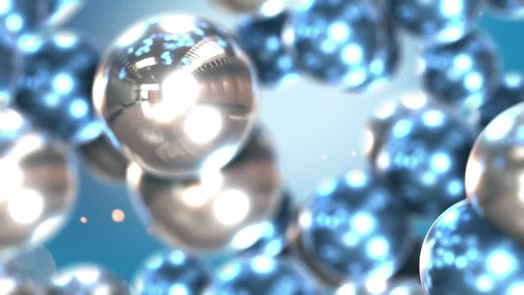 Reflective Balls : Stock Motion Graphics