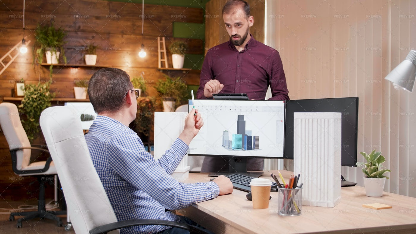Graphic Desginer Working In Gaming: Stock Photos