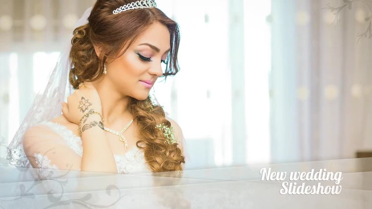 Wedding Event Slideshow: After Effects Templates