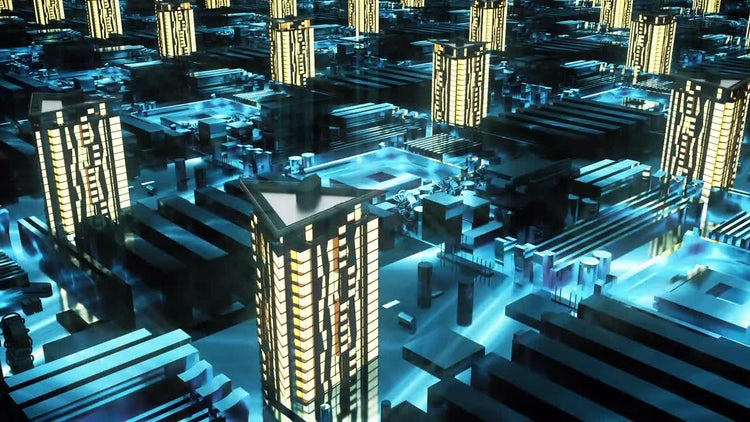 Cyber City: Motion Graphics
