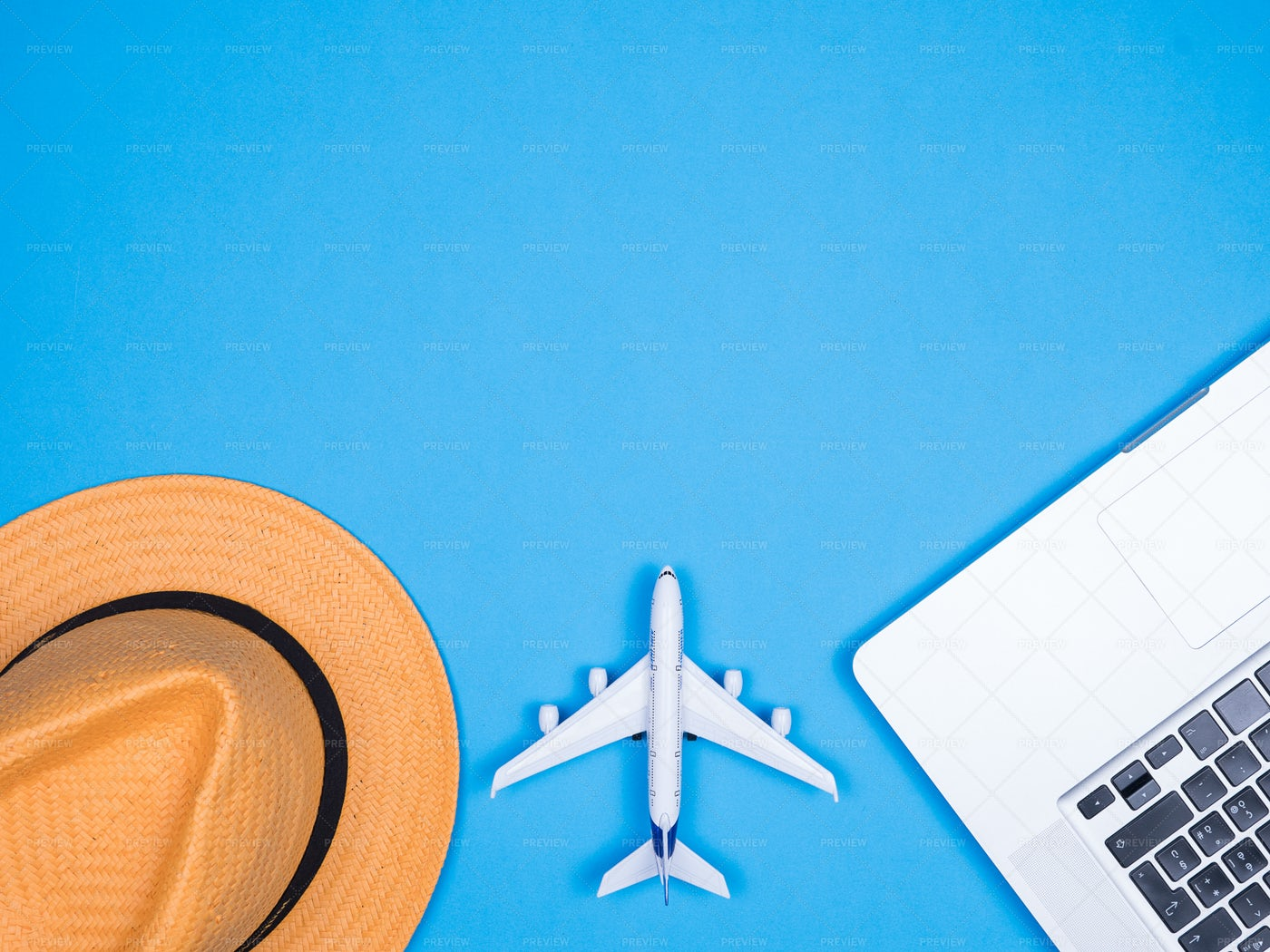 Booking Travel Flights Background: Stock Photos