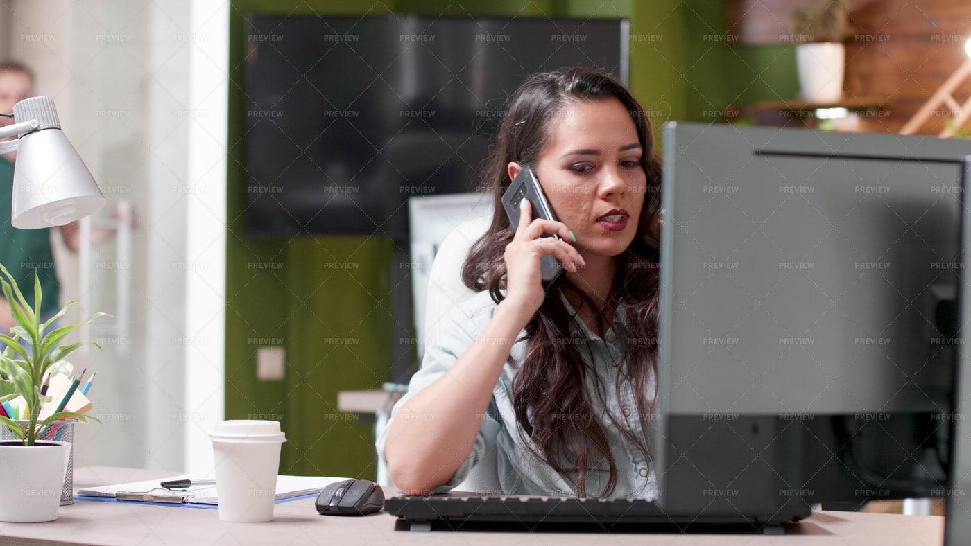 Business Phone Call: Stock Photos