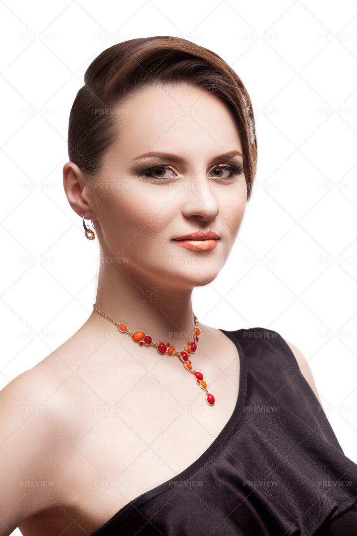 Elegantly Dressed Woman: Stock Photos