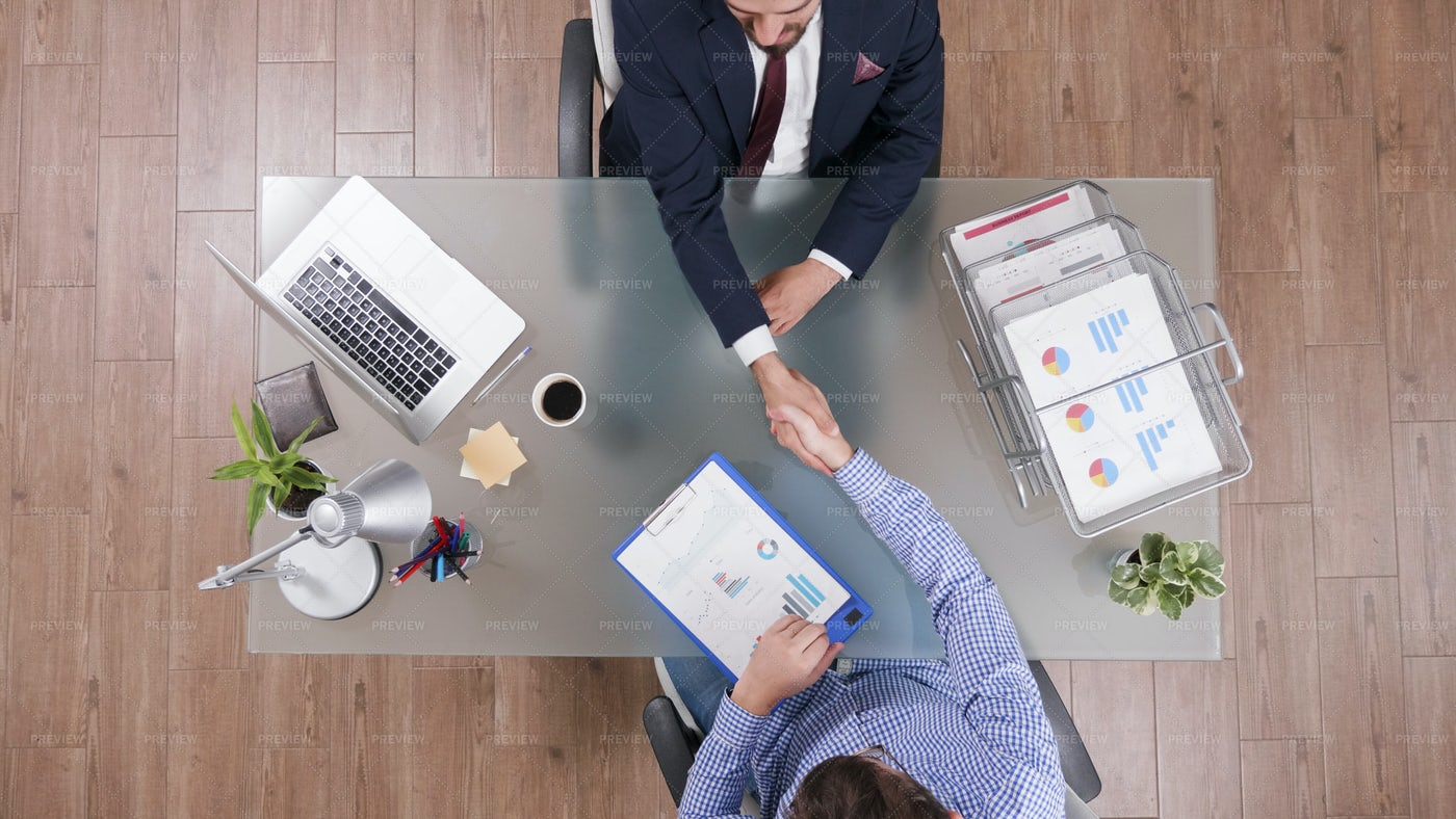 Two Businessmen Shaking Hands: Stock Photos