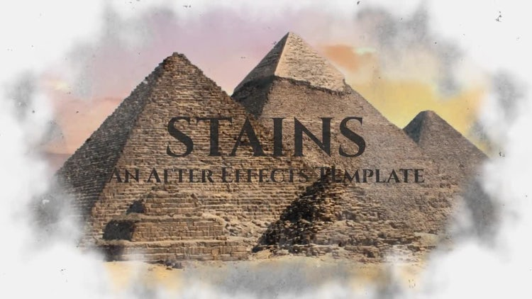 Stains: After Effects Templates