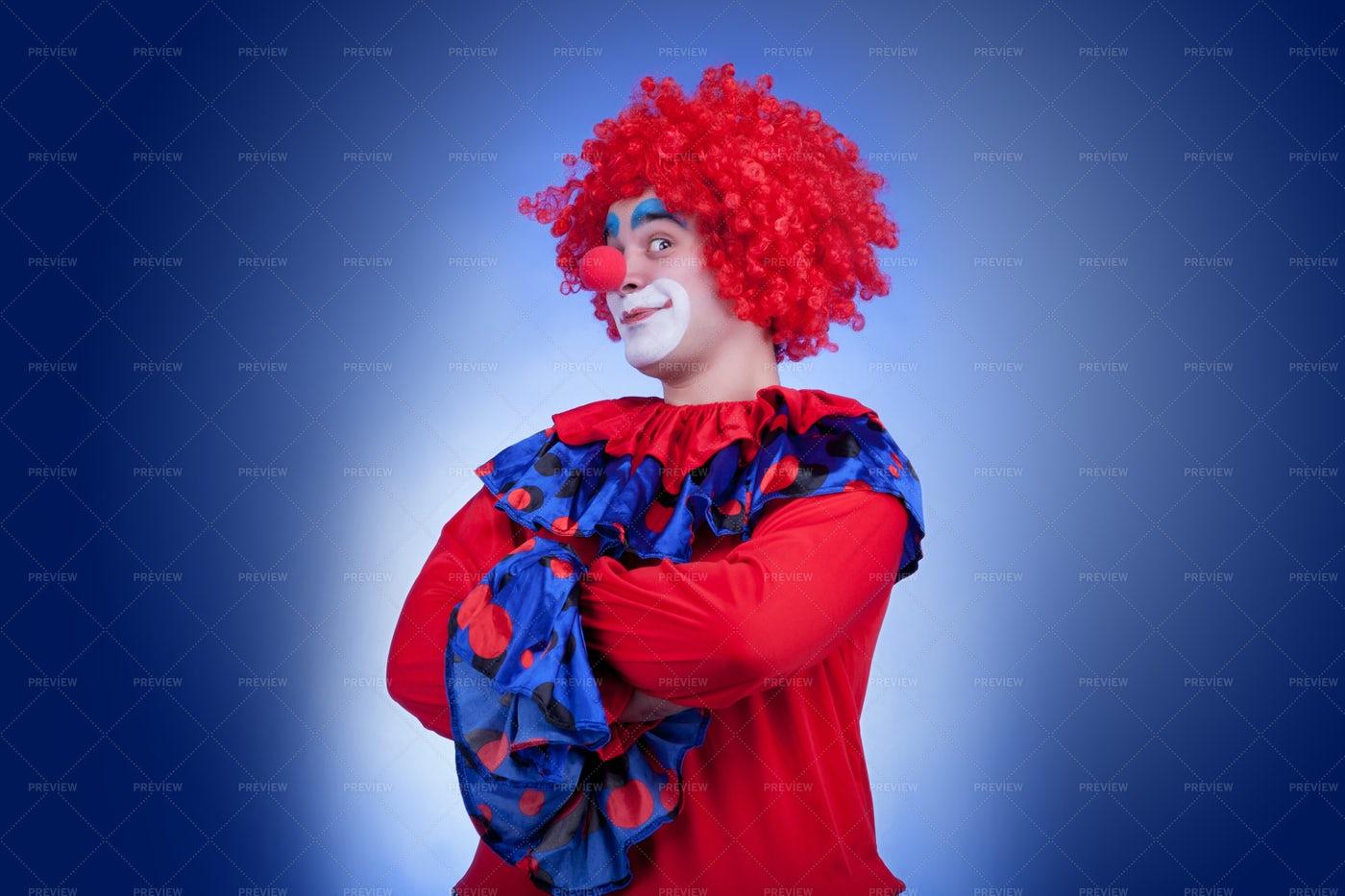Cheeky Clown: Stock Photos