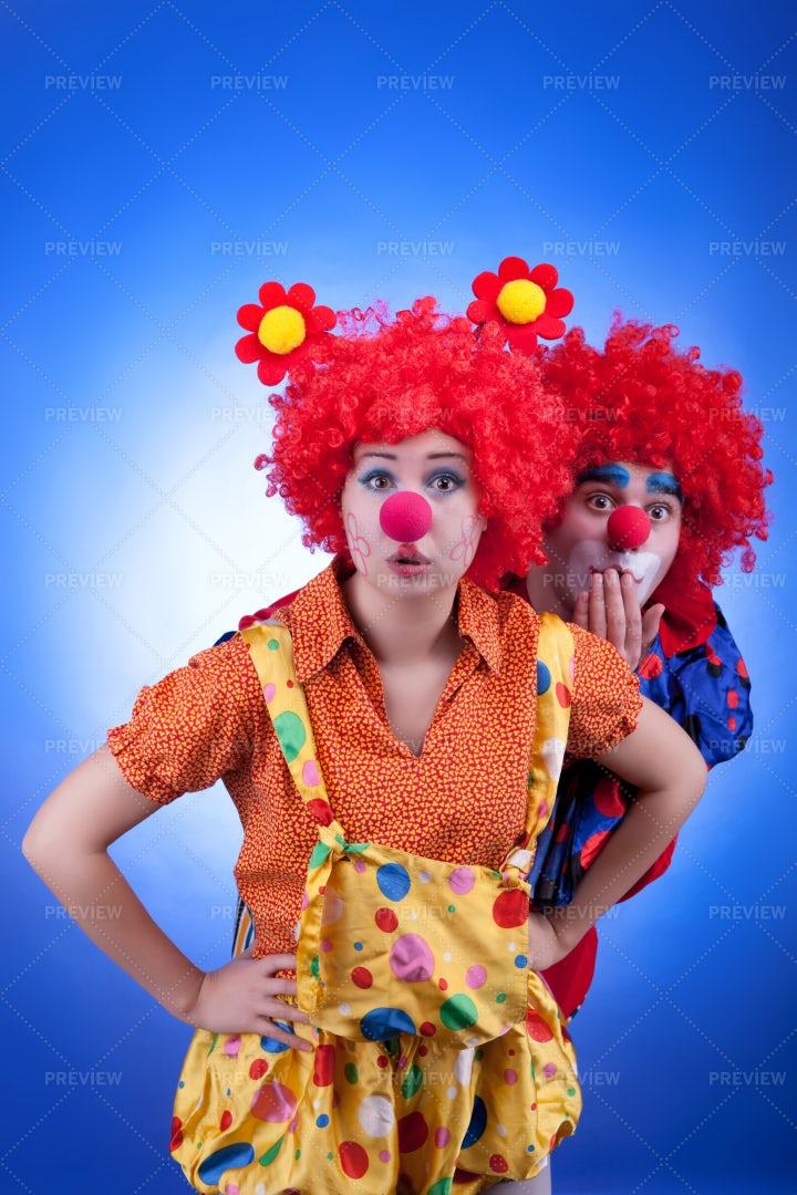 Clowns: Stock Photos