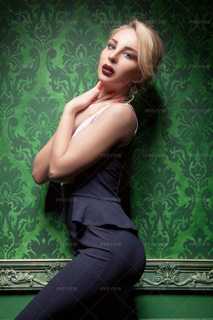 Beautiful Blonde Woman: Stock Photos