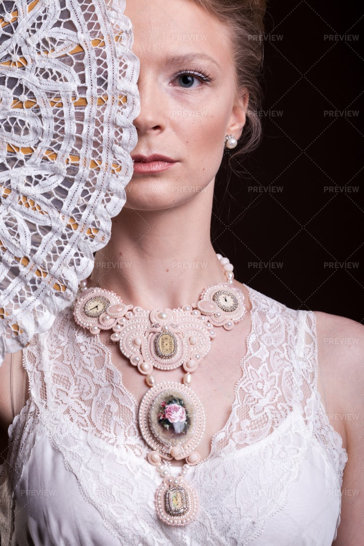 Victorian Inspired Fashion: Stock Photos