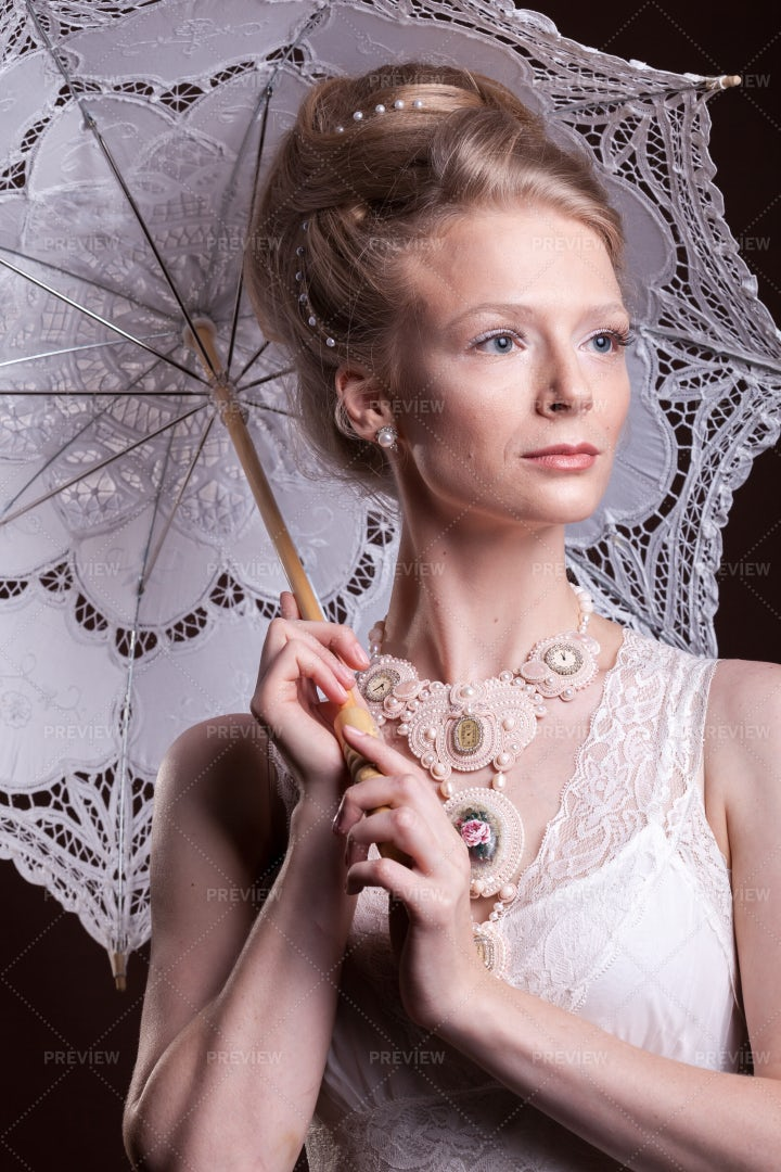 Victorian Lace: Stock Photos