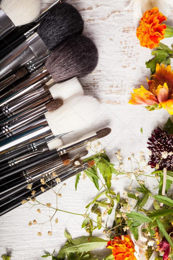 Makeup Accessories: Stock Photos
