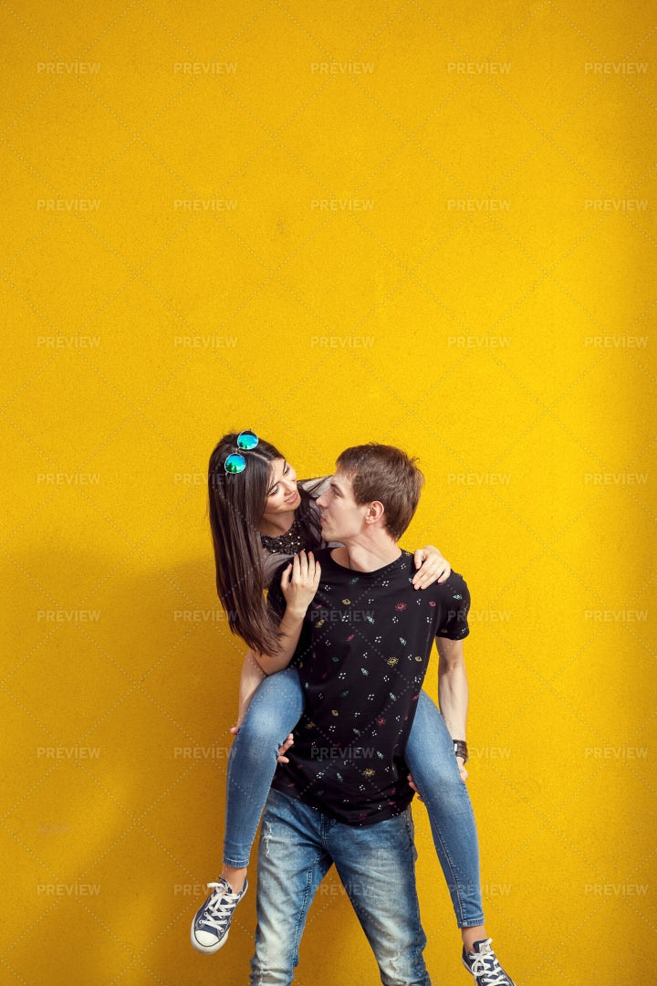 Couple Having Good Time: Stock Photos