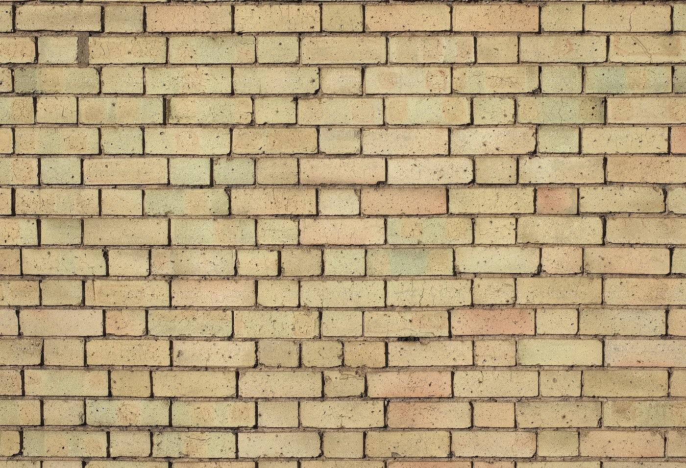 Yellow Brick Wall: Stock Photos