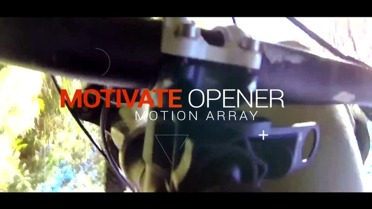 Motivate Opener: After Effects Templates