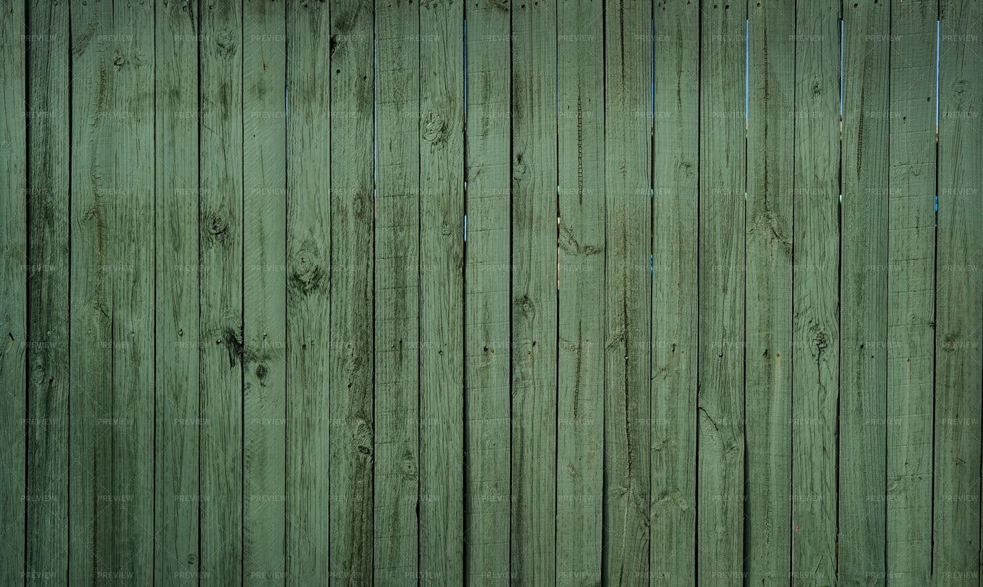 Green Fence Wood: Stock Photos