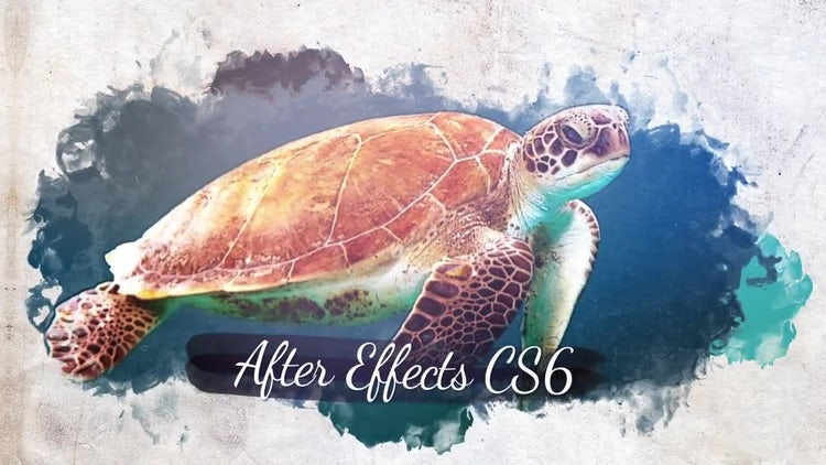Watercolor Slideshow: After Effects Templates