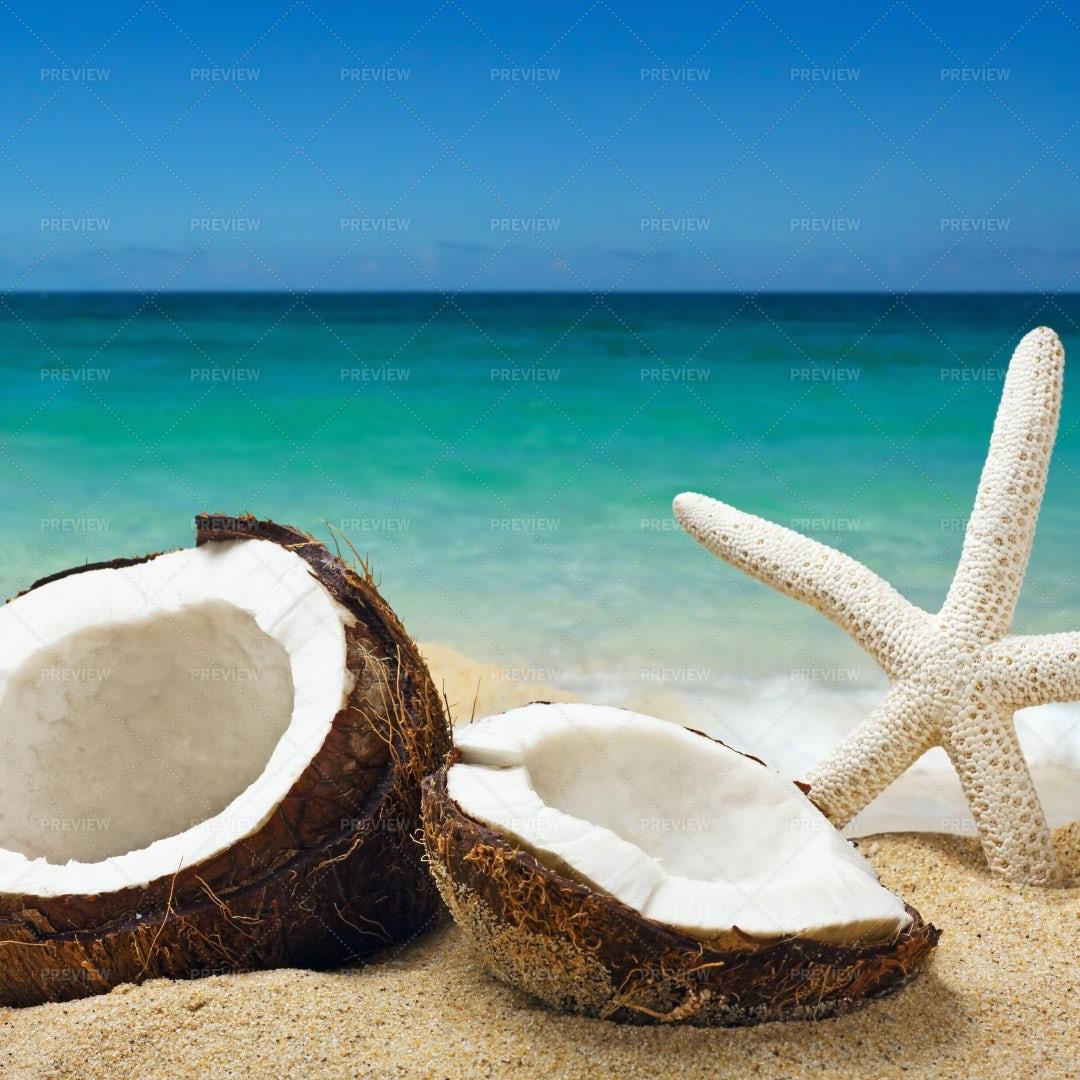 Chopped Coconut: Stock Photos