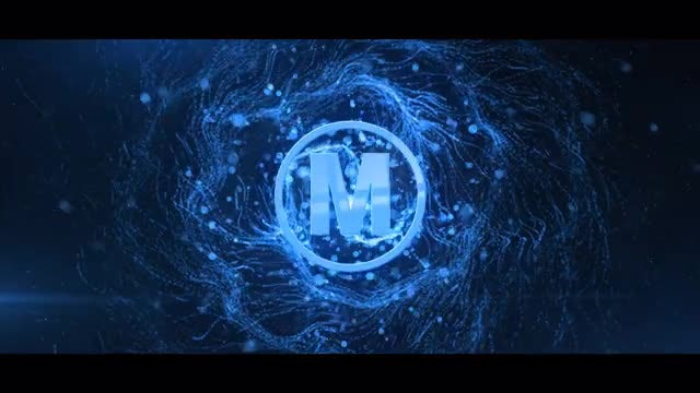 Particle Vortex Logo: After Effects Templates