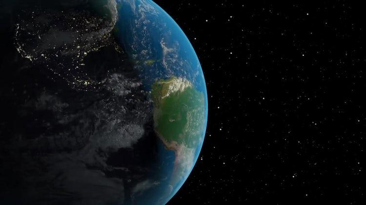 Earth Animation: Motion Graphics