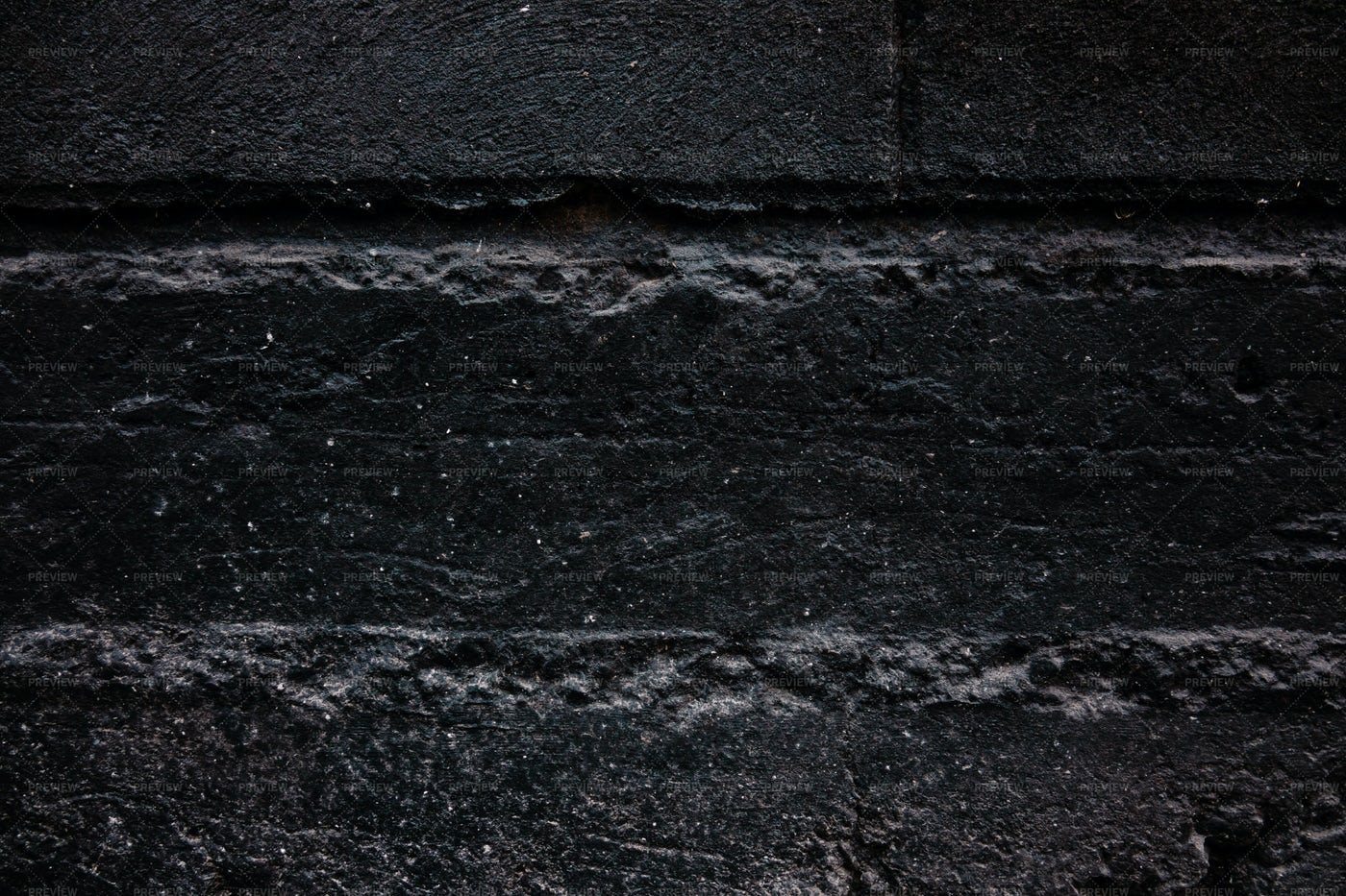 Texture Of Painted Black Concrete: Stock Photos