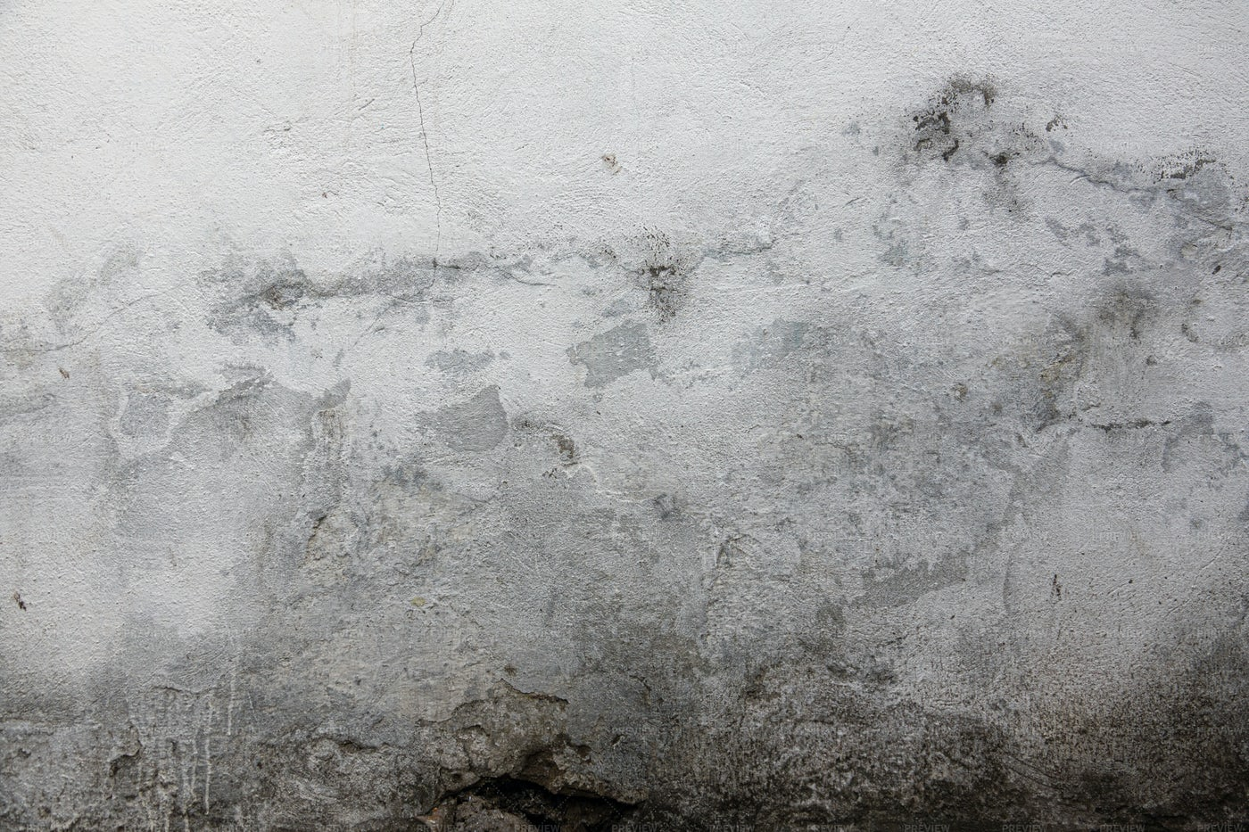 White Stained Wall: Stock Photos