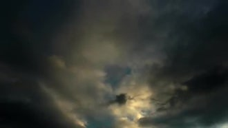 Dark Clouds: Stock Video