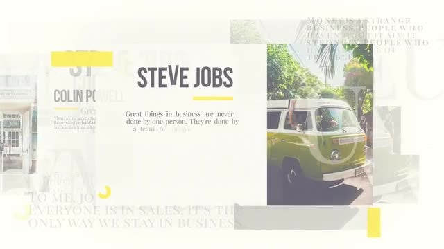 Business Presentation Promo: After Effects Templates