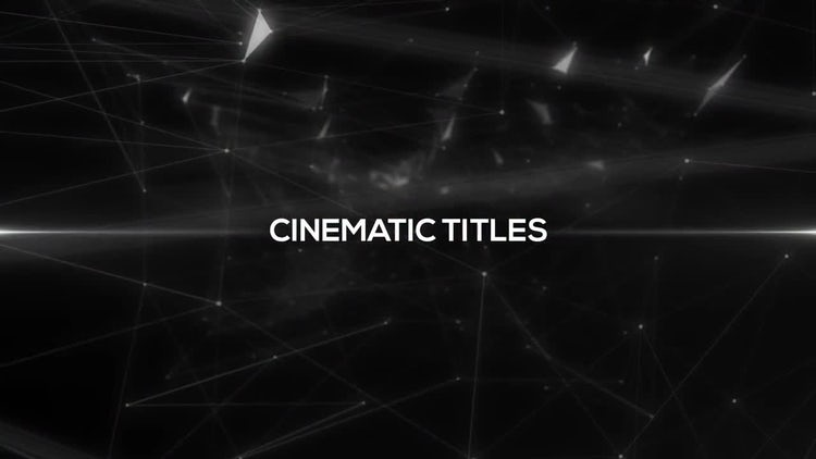 Glitch Cinematic Titles: After Effects Templates