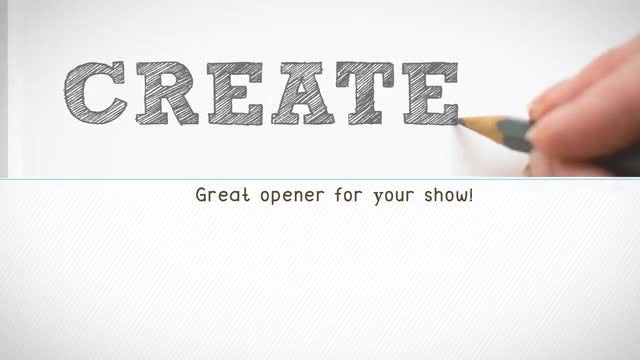 Kinetic Opener: After Effects Templates