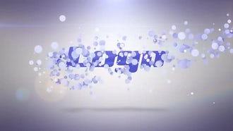 Clean Particle Logo: After Effects Templates