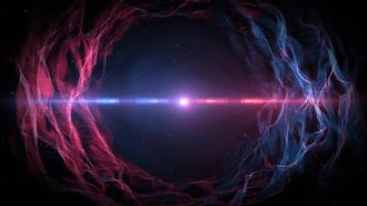 Nebula Abstract Background: Motion Graphics