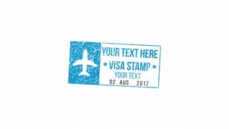 Visa & Simple Stamps: After Effects Templates
