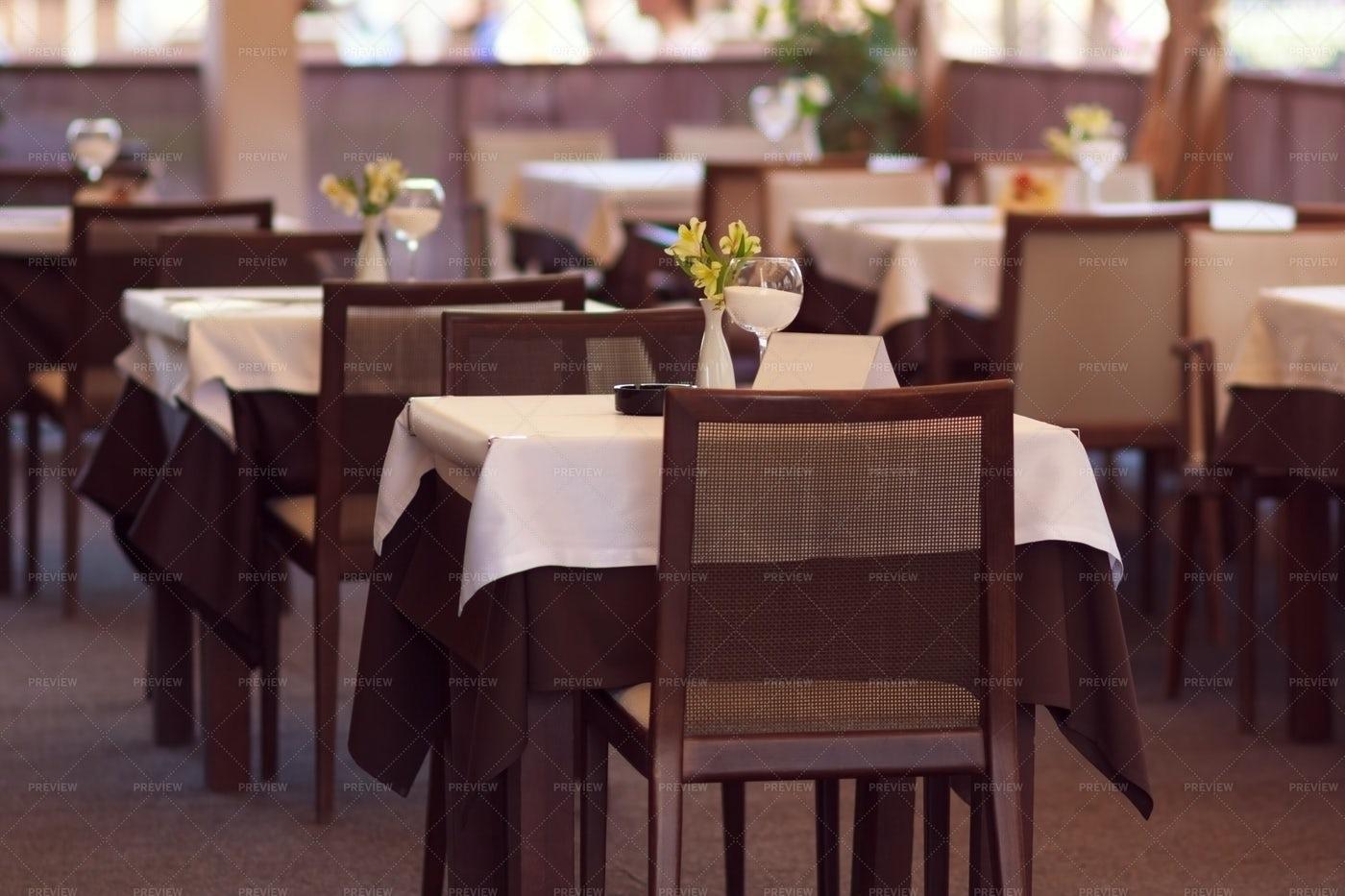 Empty Restaurant: Stock Photos
