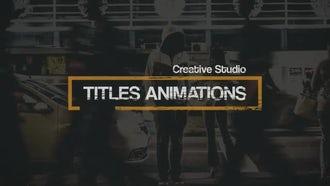 Grunge Titles: Premiere Pro Templates