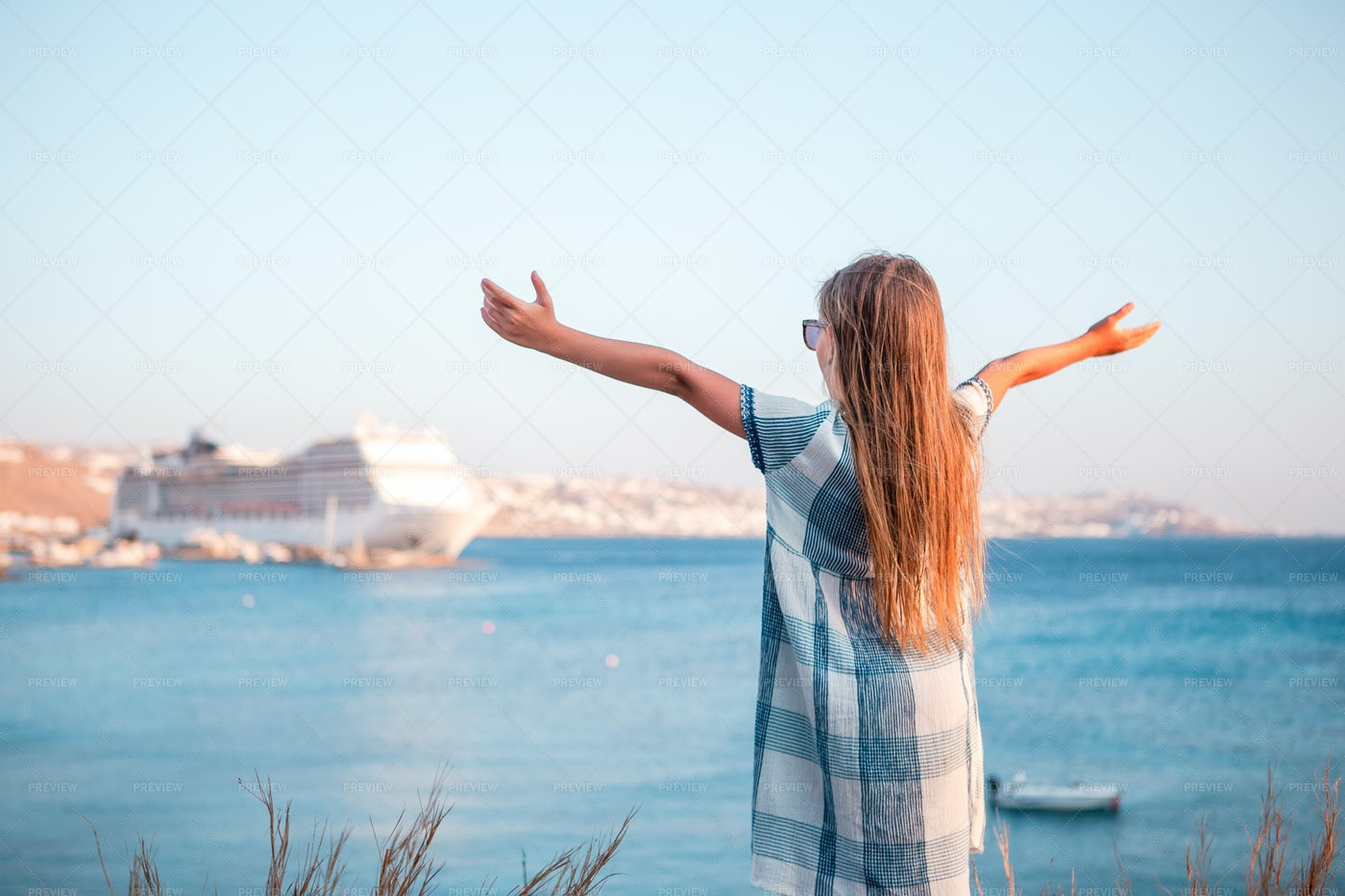 Loving The Water View: Stock Photos