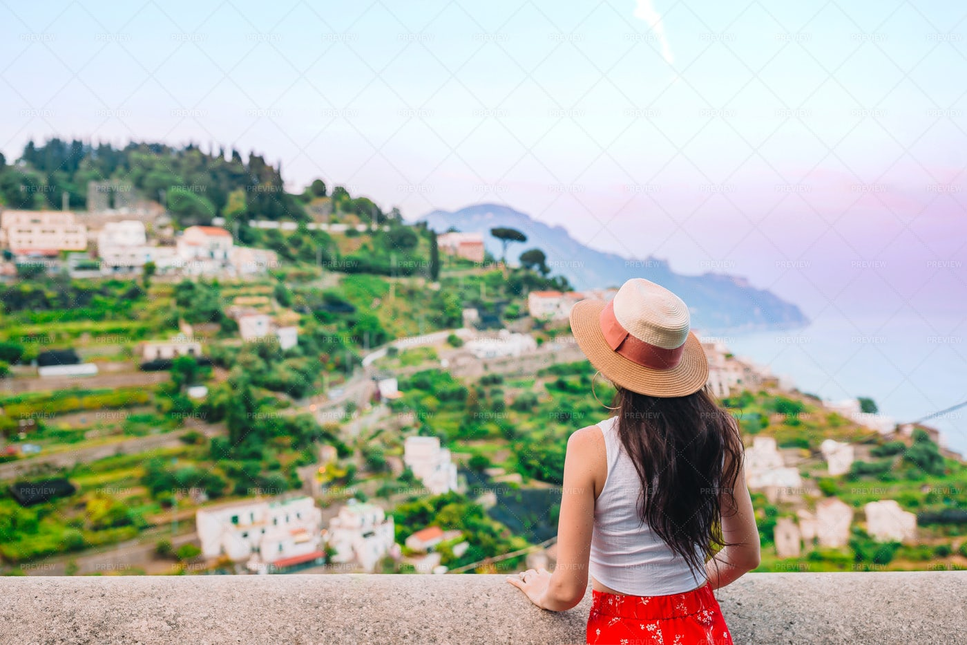 Woman In Italy: Stock Photos