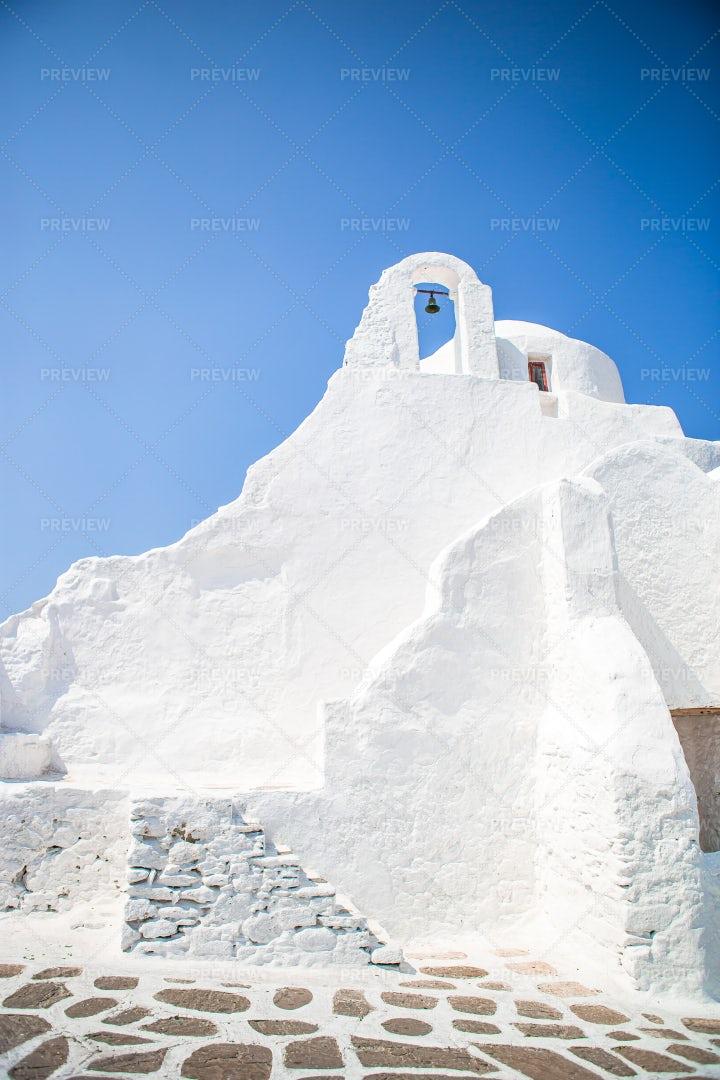 Paraportiani Orthodox Church: Stock Photos