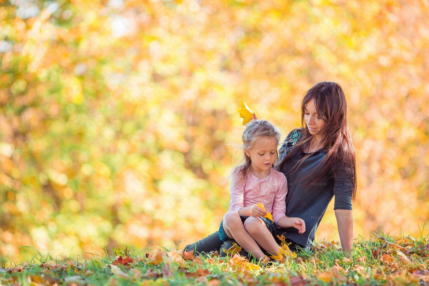 Autumn Family Time: Stock Photos