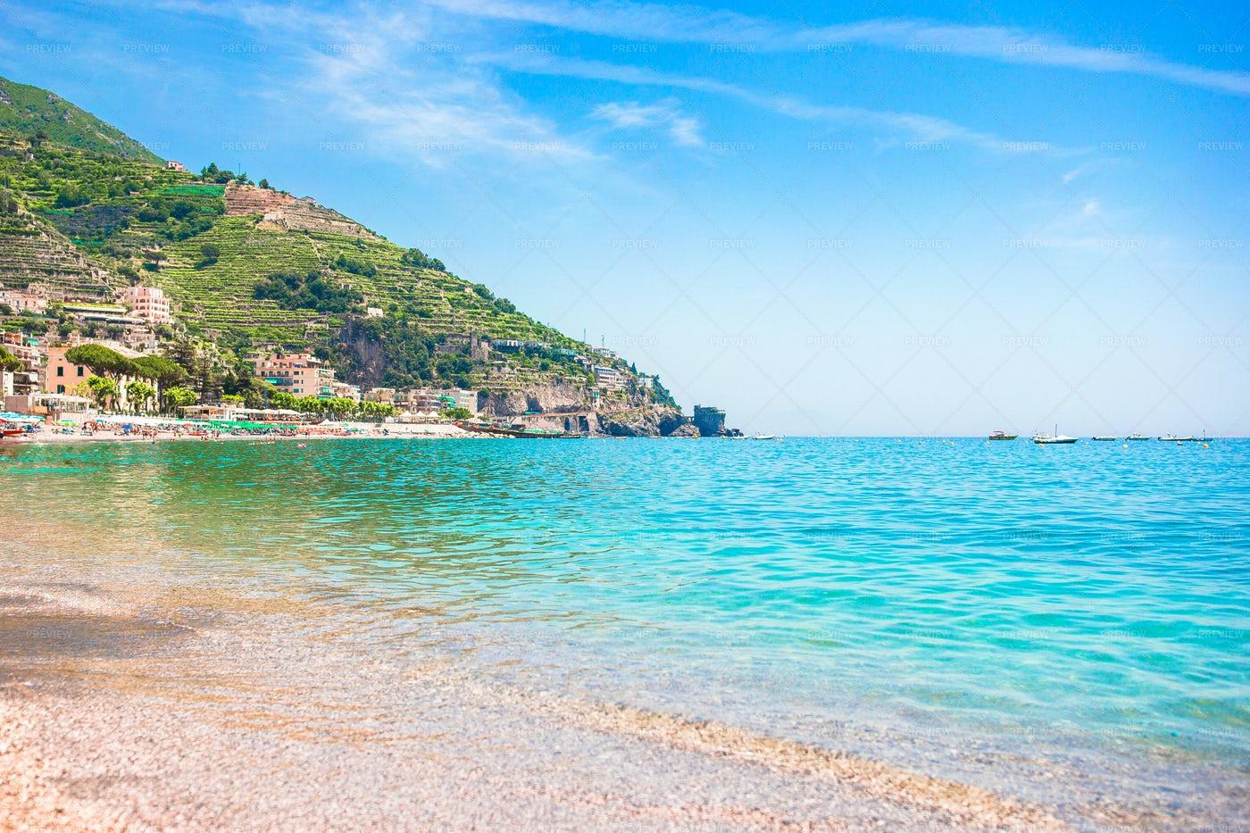 The Amalfi Coast: Stock Photos