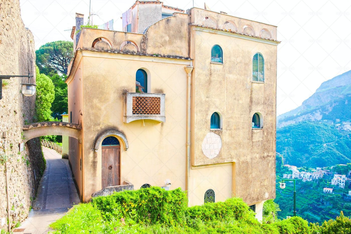 Villa Chimbrone: Stock Photos