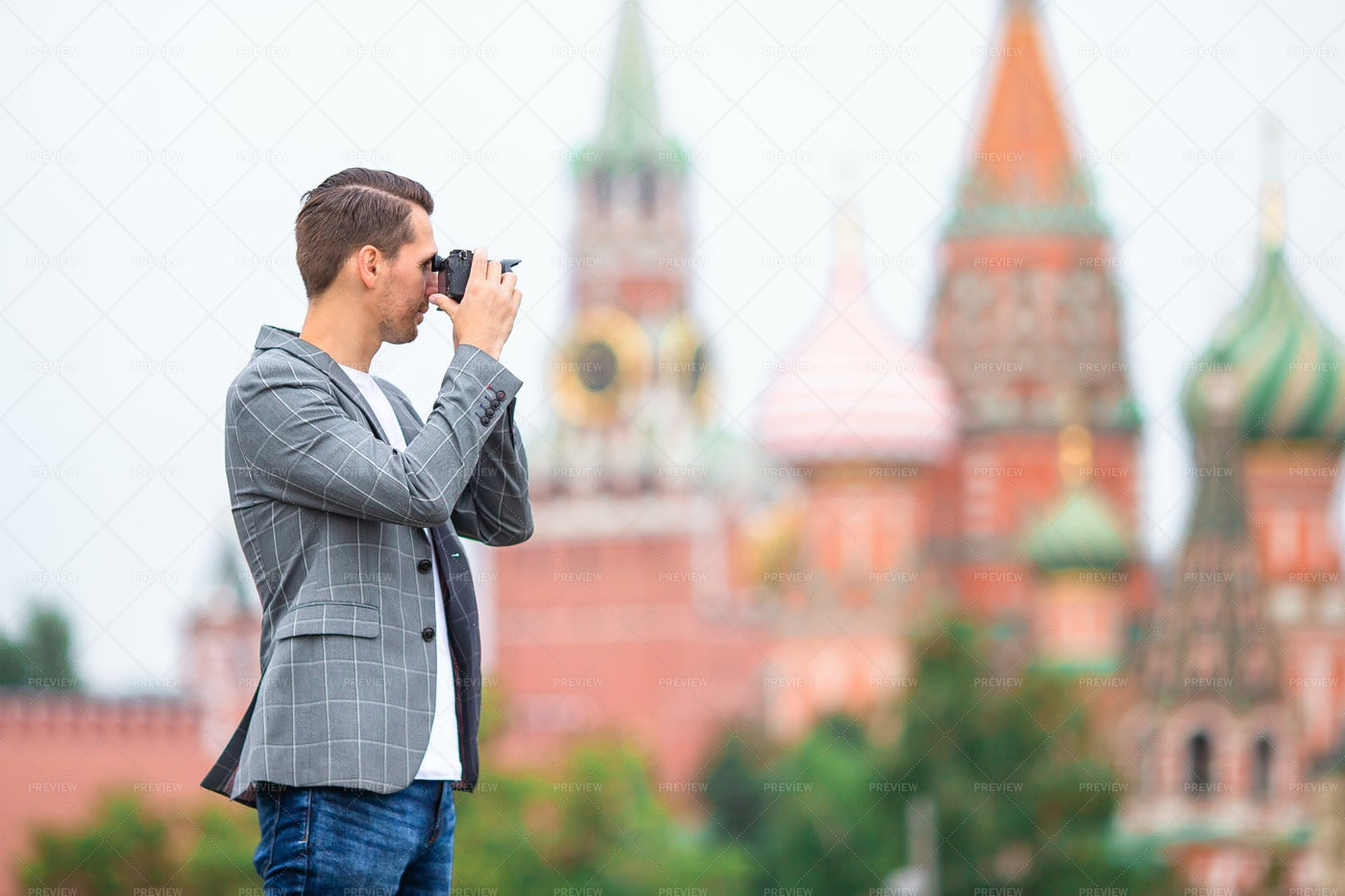 Photographing Moscow: Stock Photos