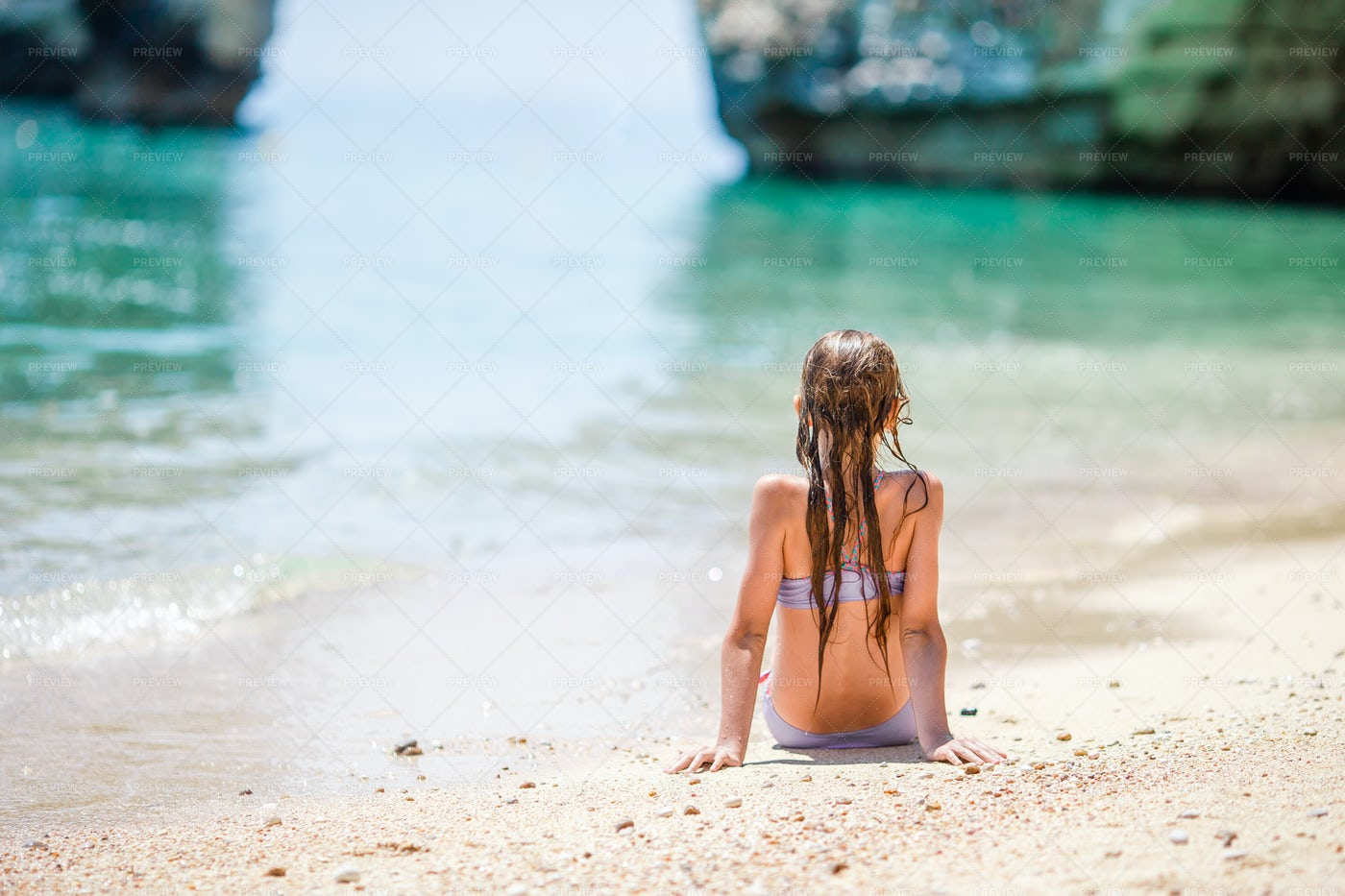 Summer Beach Vacation: Stock Photos