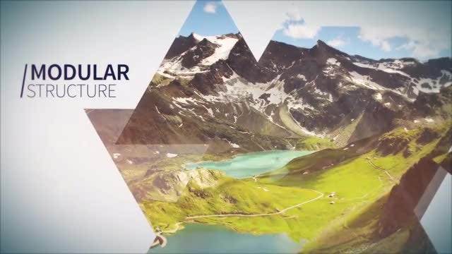 Elegant Abstract Opener: After Effects Templates