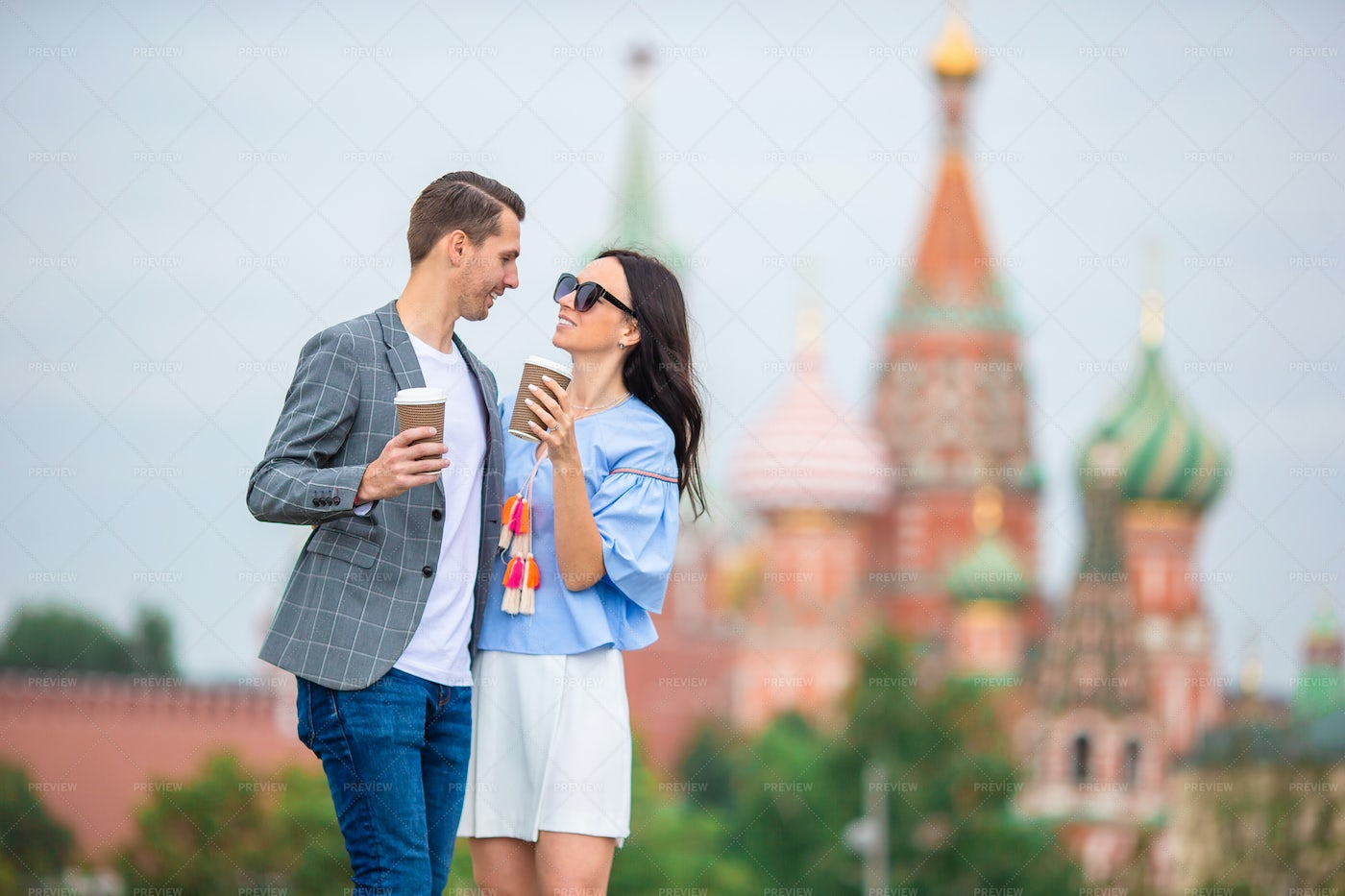 Couple In Russia: Stock Photos