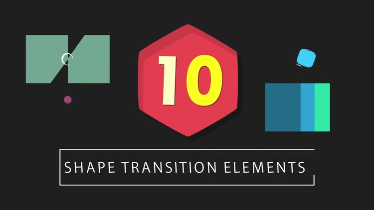 10 Shape Transitions: Motion Graphics