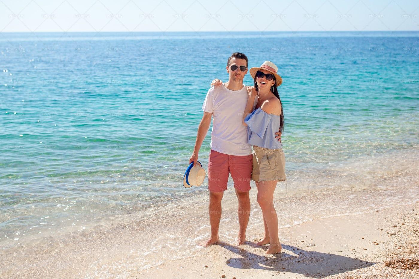 Couple On Honeymoon: Stock Photos